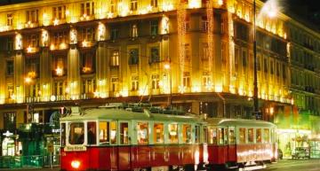 Oldtimer-Straßenbahn