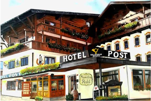 Hotel Post in Fügen