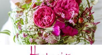 Flora Blumen und Dekor