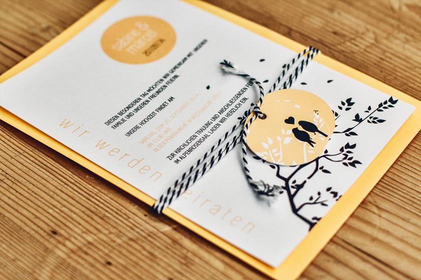 papierliebe-hochzeitsdesign-herbst-voegel-einladung-orange-schwarz