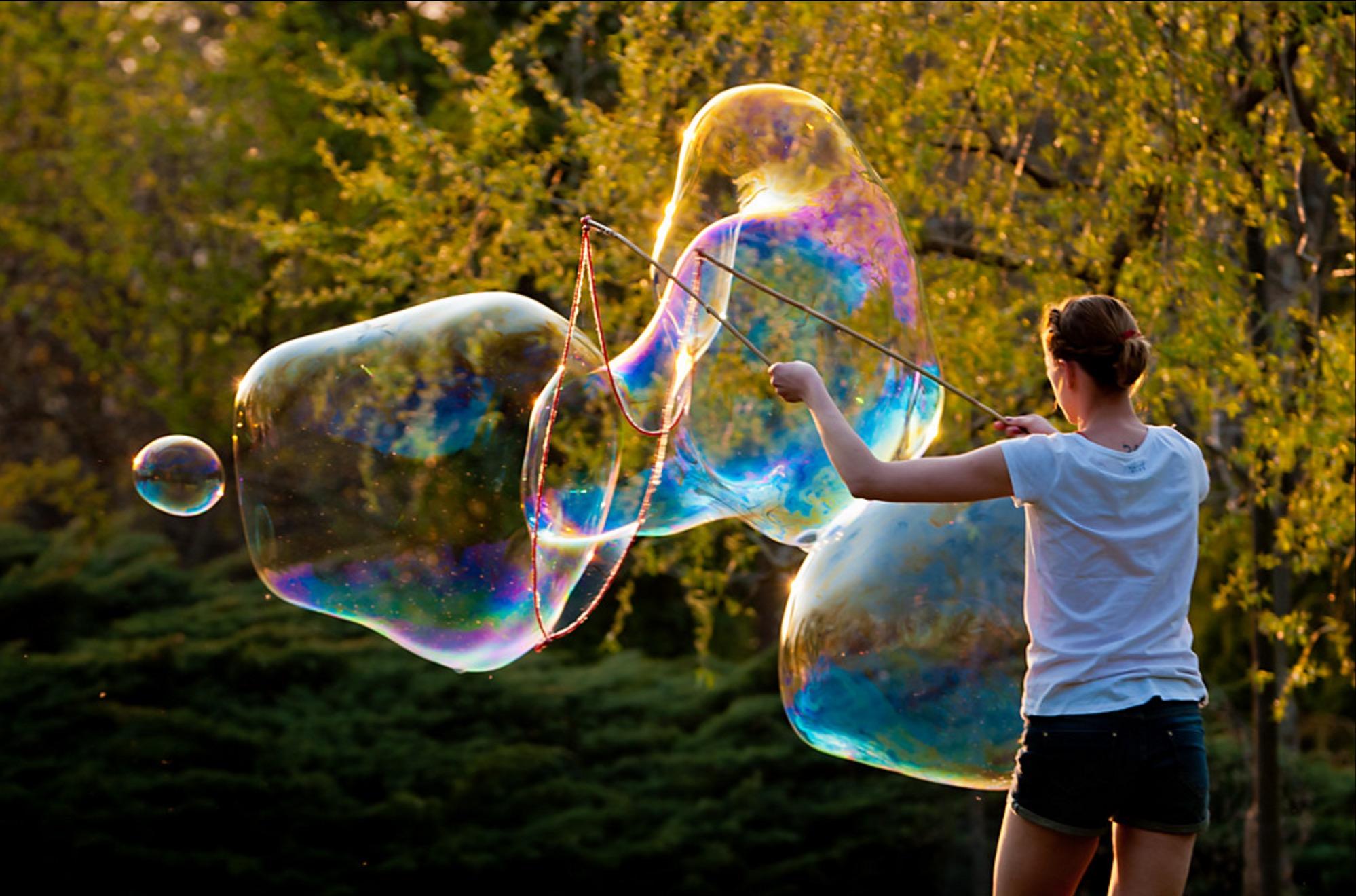 Bubble dich weg