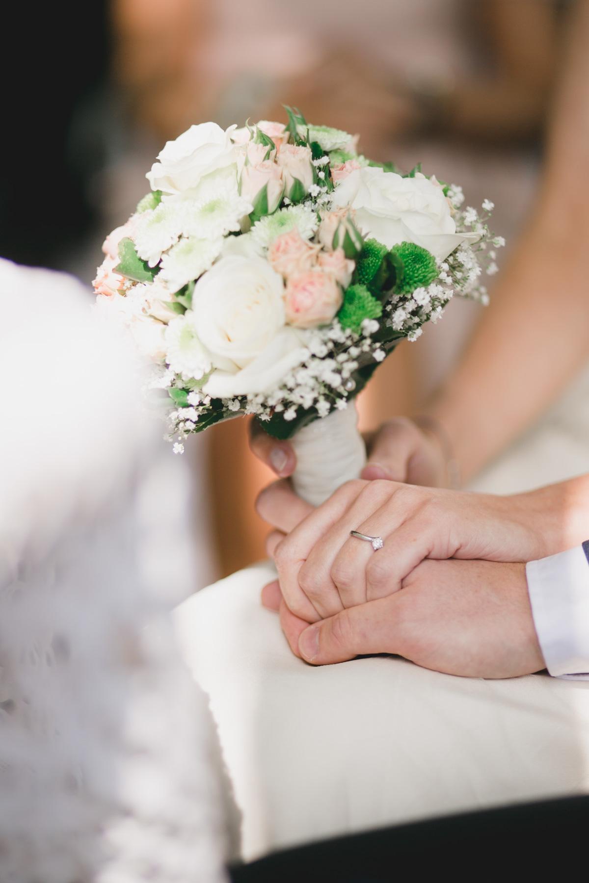 Brautpaar Eheringe