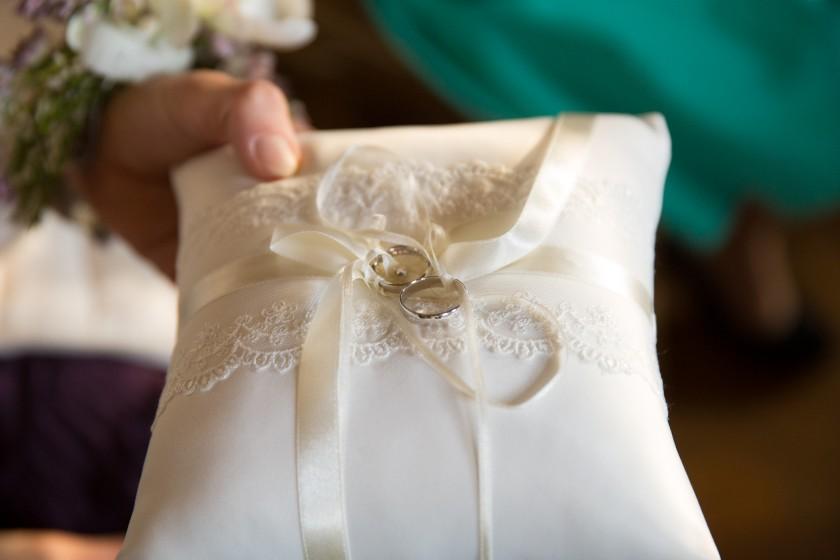 Hochzeit Ringkissen wedding agency