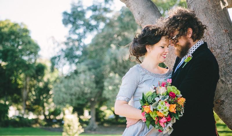 Die perfekte unkonventionelle Hochzeitsfeier (Styling)