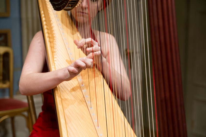 wedding music harp
