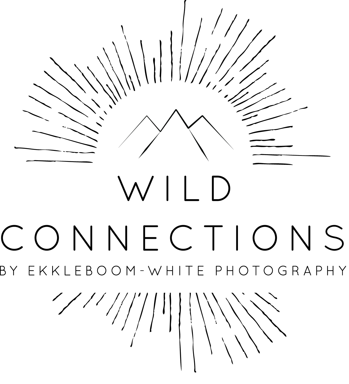 Wild Connections Main Logo in Black low res