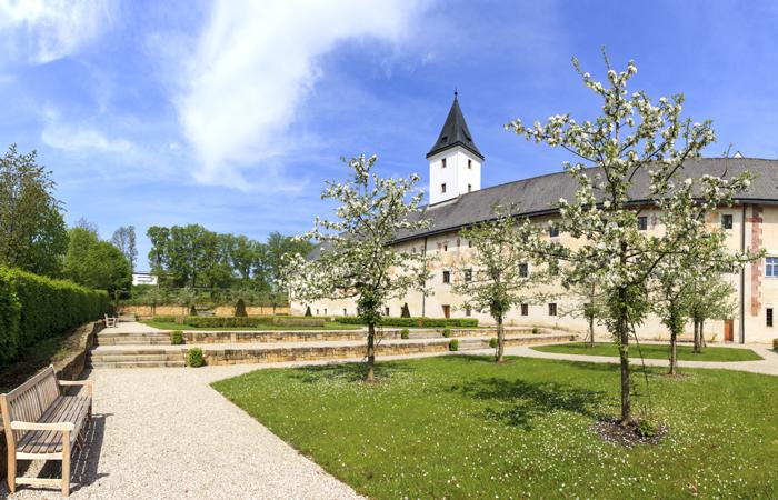 Landschloss Parz Garten Foto Vitalwelt - A