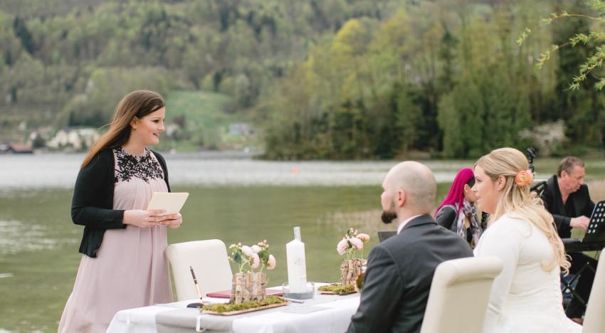 Warum ein professioneller Hochzeitsredner?