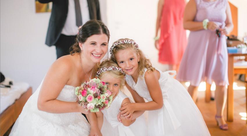 Vom Ringträger bis zum Blumenmädchen