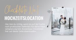 Hochzeitslocation: PDF-Checkliste No1 zum Download