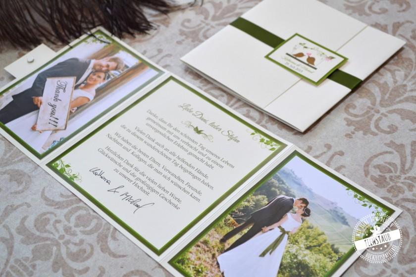 Feenstaub Hochzeitspapeterie