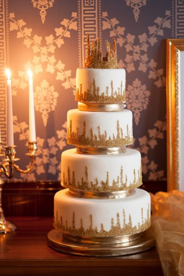 Park Hyatt - Wedding Cake 5