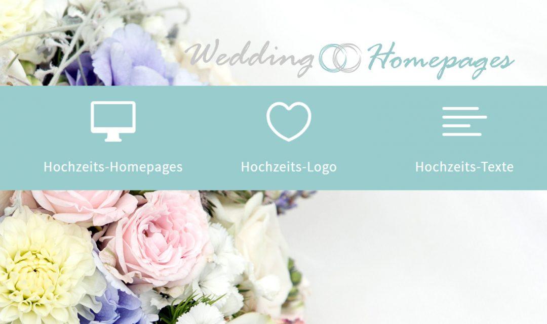 Wedding Homepages eine Dienstleistung von gocreate! e.U.