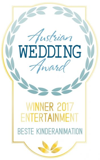 Winner 2017 Beste Kinderanimation Austrian Wedding Award