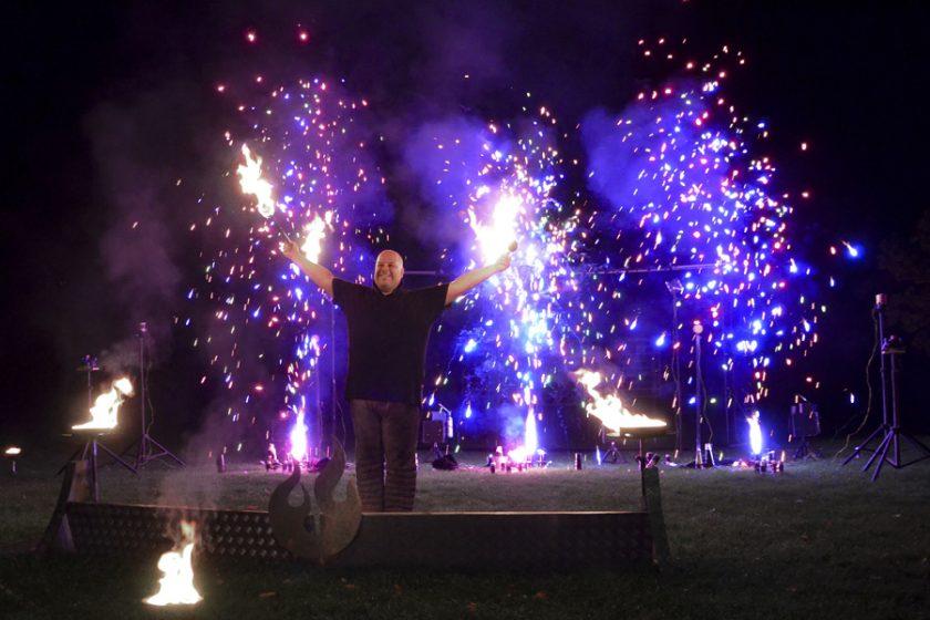 Bodenfeuerwerk fire passion -1