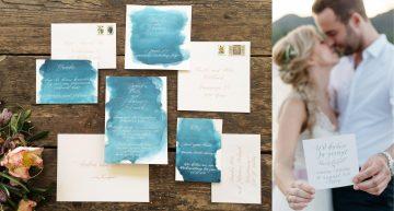 Mit Liebe |Kalligrafie & Handgedrucktes