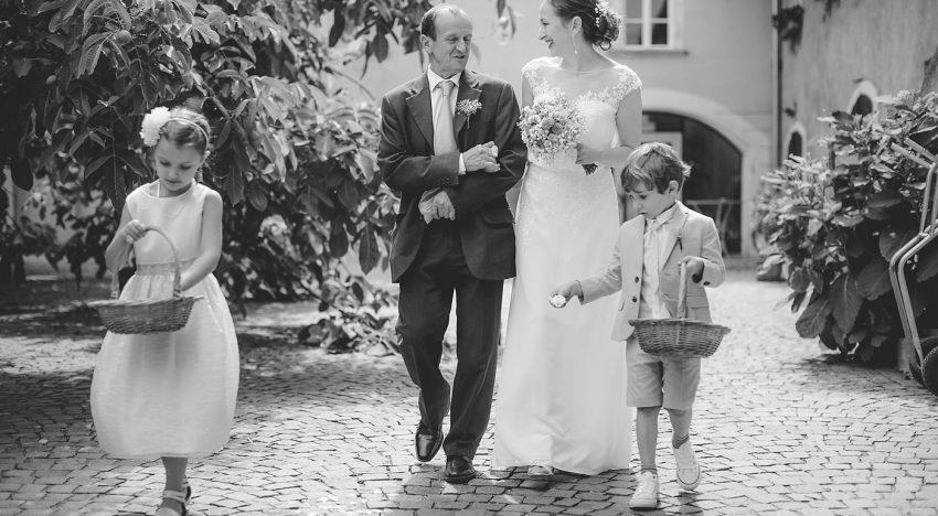 Die perfekte Stimmung – große und kleine Gäste in die Hochzeitsfeier miteinbeziehen