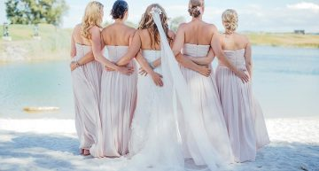 @die Ciuciu's_bride and bridesmaids