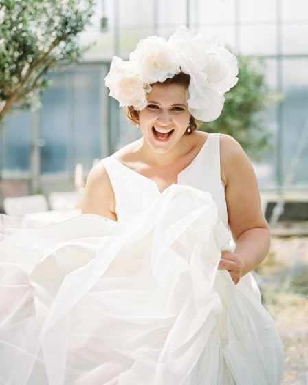 Curvy Bride by Siegrid Cain Photography