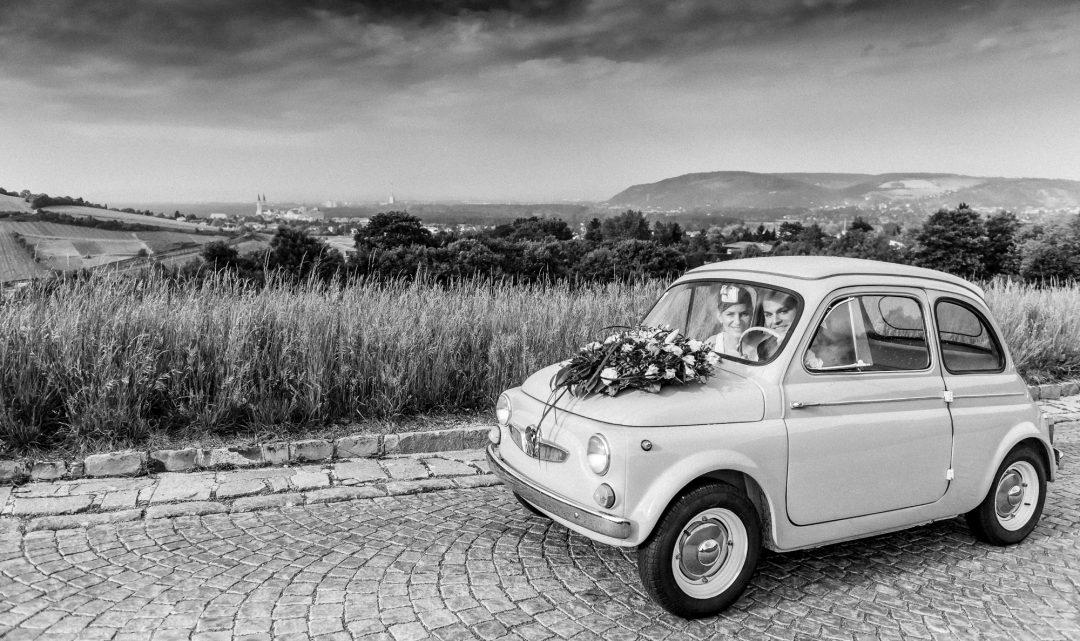 Schritt 14: Hochzeitsauto oder Kutsche?