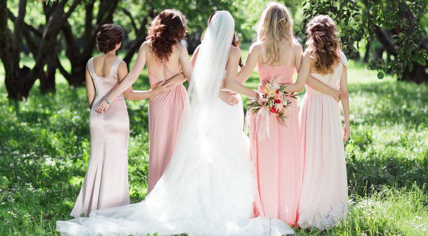 Das perfekte Brautjungfernkleid
