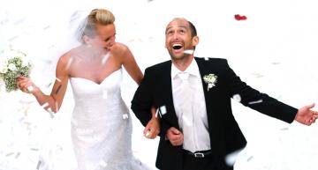 Perfekte Hochzeit