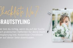 Brautstyling & Makeup Checkliste
