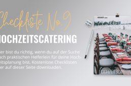Hochzeitscatering Checkliste