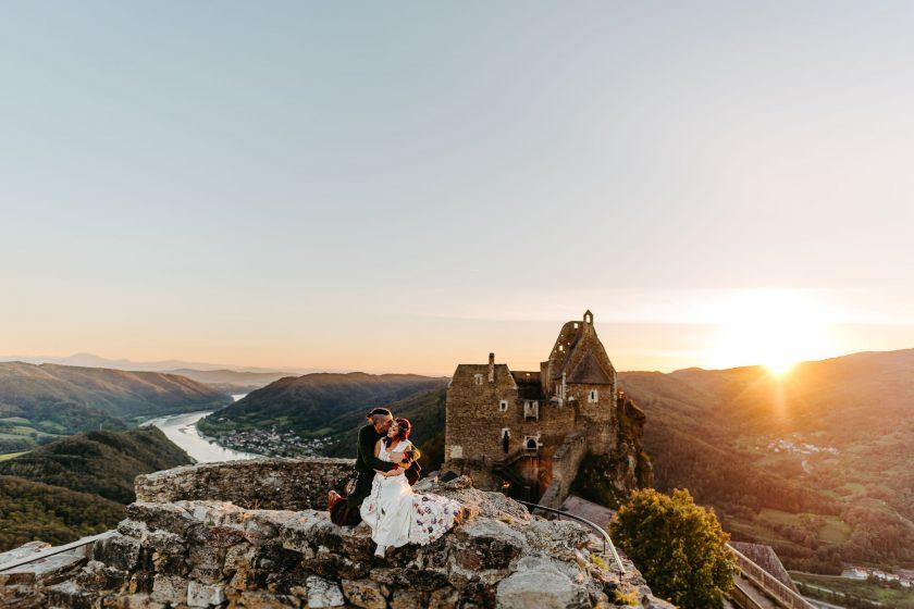 Hochzeitsfotograf Linz, Hochzeit Heiraten Burgruine Aggstein, Hochzeitsfotograf Steyr, Hochzeitsfotograf Villa Bergzauber, Hochzeitsfotograf Salzburg, Hochzeitsfotos, Hochzeitsfotografie-180929
