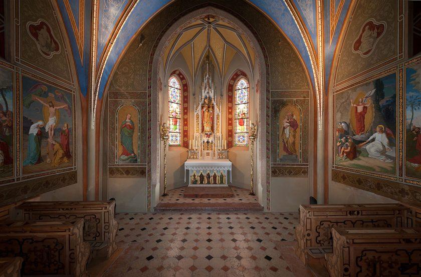 Schloss_Ambras_Innsbruck_Kapelle