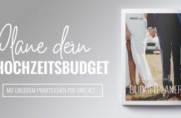 Was kostet eine Hochzeit wirklich? Ein praktischer Budgetplaner.