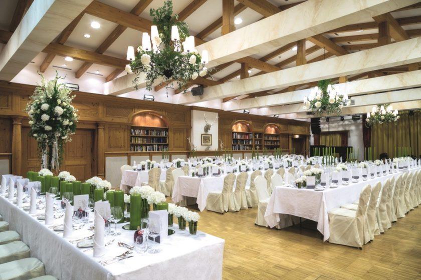 Hochzeitstisch Hotel Rasmushof