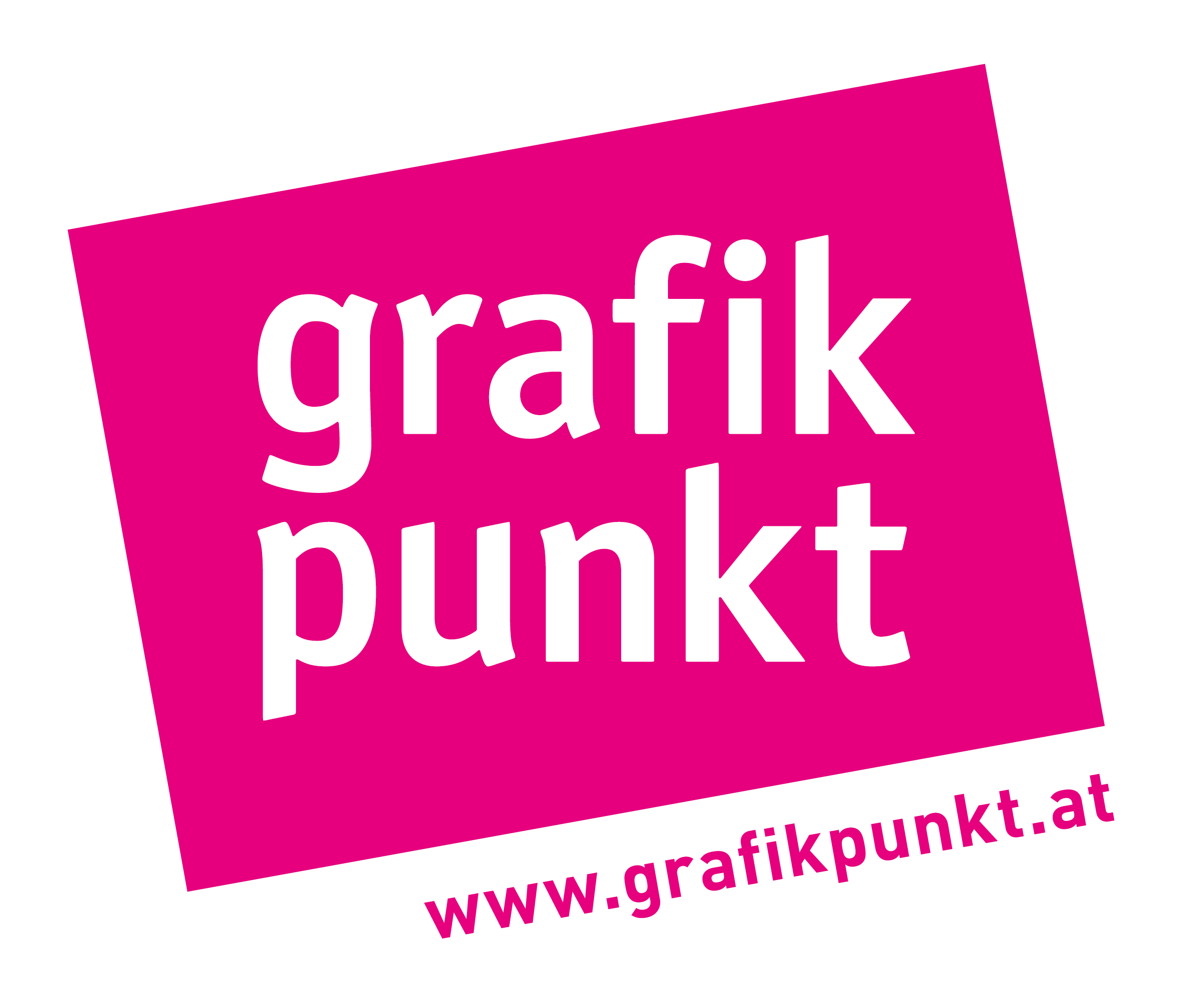 GrafikPunkt_Logo_pink_schraeg