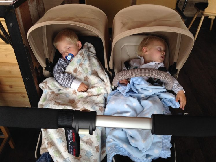 Schlafende Kinder Kristallhütte