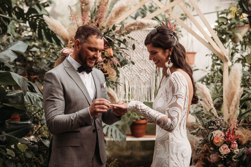 Botanical Garden Elopement
