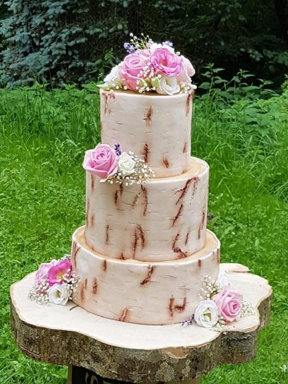 Weddingcake holz