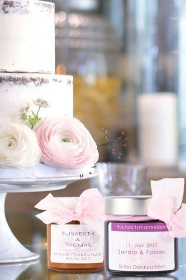 Hochzeitsmarmelade individuell für euch