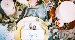 Hochzeitsdesign – Die Tischdekoration