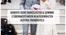 Dienstleister bewerten und Übernachtung in Austria Trendhotel gewinnen