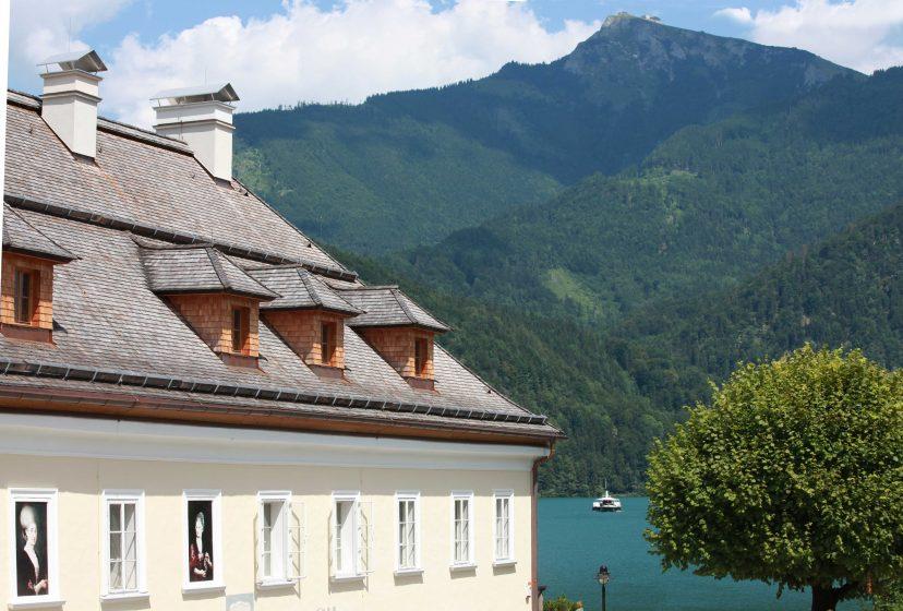 Mozarthaus Schafberg Wolfgangsee Raddampfer 01 ds