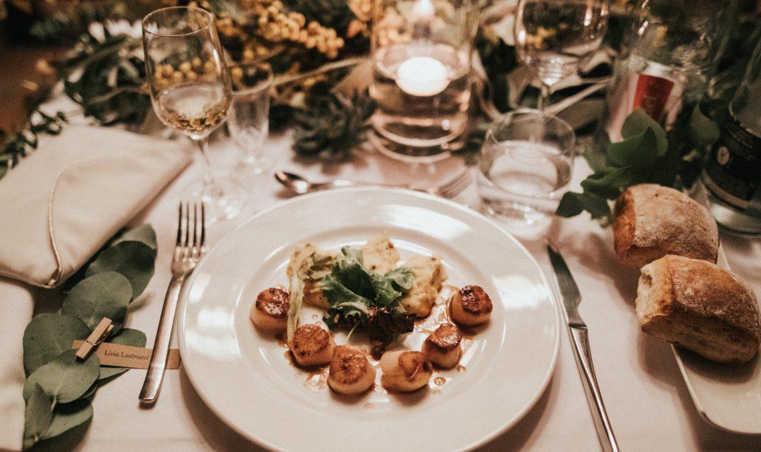 Schritt 16: Fingerfood, Hochzeitsessen und Hochzeits-Catering