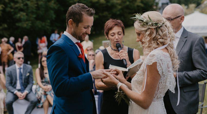 Das Hochzeitsrednerpaar