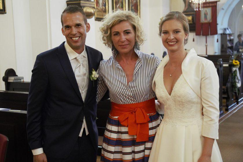 Hochzeitspaar + Elke 3