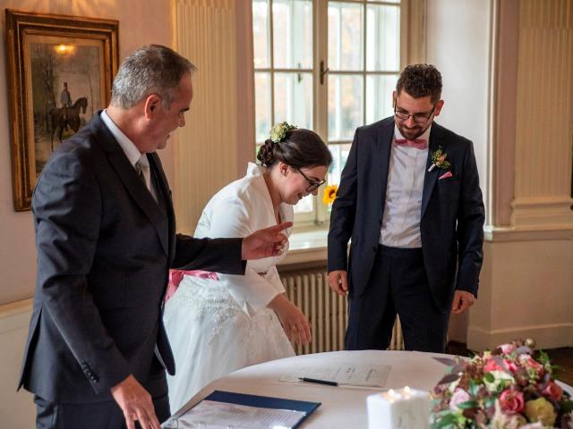 0406 Unterschrift Hochzeitsurkunde