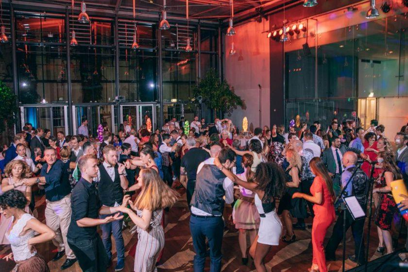 Hochzeit Salsa Party