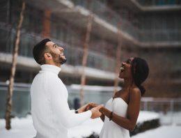 Ja-Sagen an Weihnachten? Eine Hochzeit mit weihnachtlichen Flair