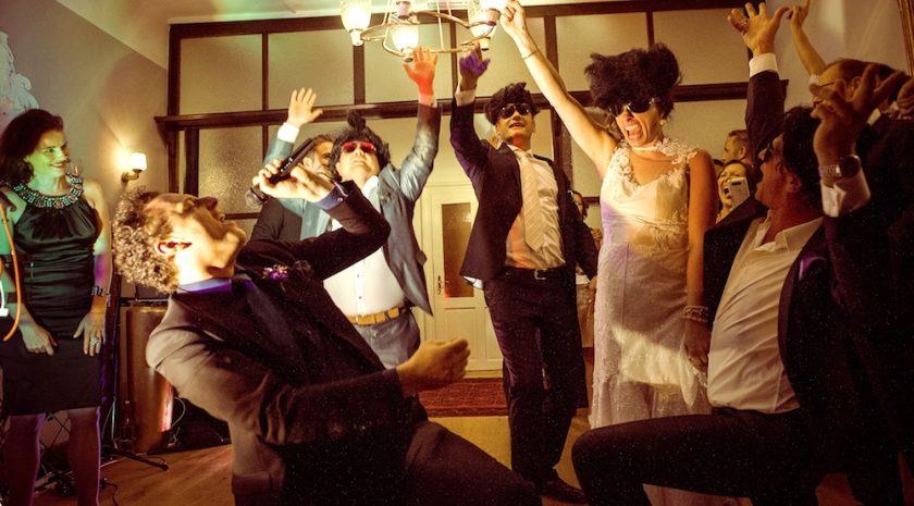 Hochzeitsband Just Music - Stimmung kl