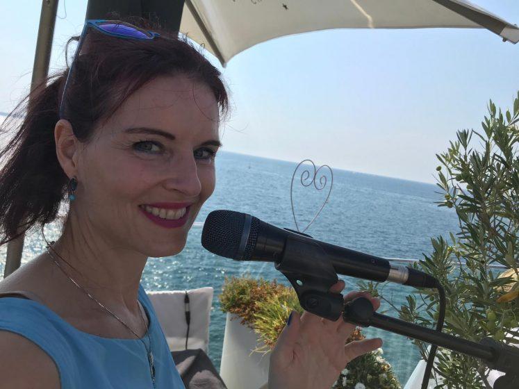 Hochzeitssängerin Danja in Piran