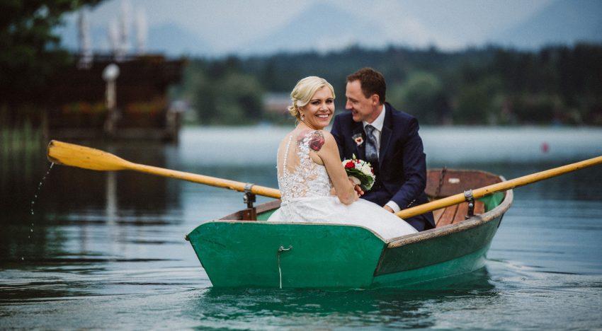 Kärnten: Hochzeit am See