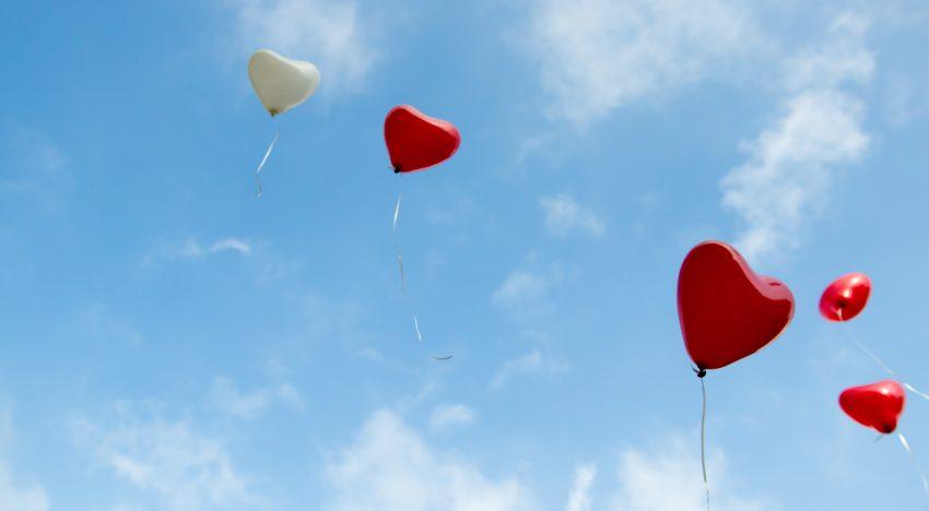 Nein zu Heliumluftballons bei Hochzeiten
